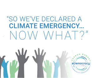 So we've declared a climate emergency
