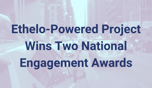 Ethelo-Powered Project Wins Two National Engagement Awards (2)