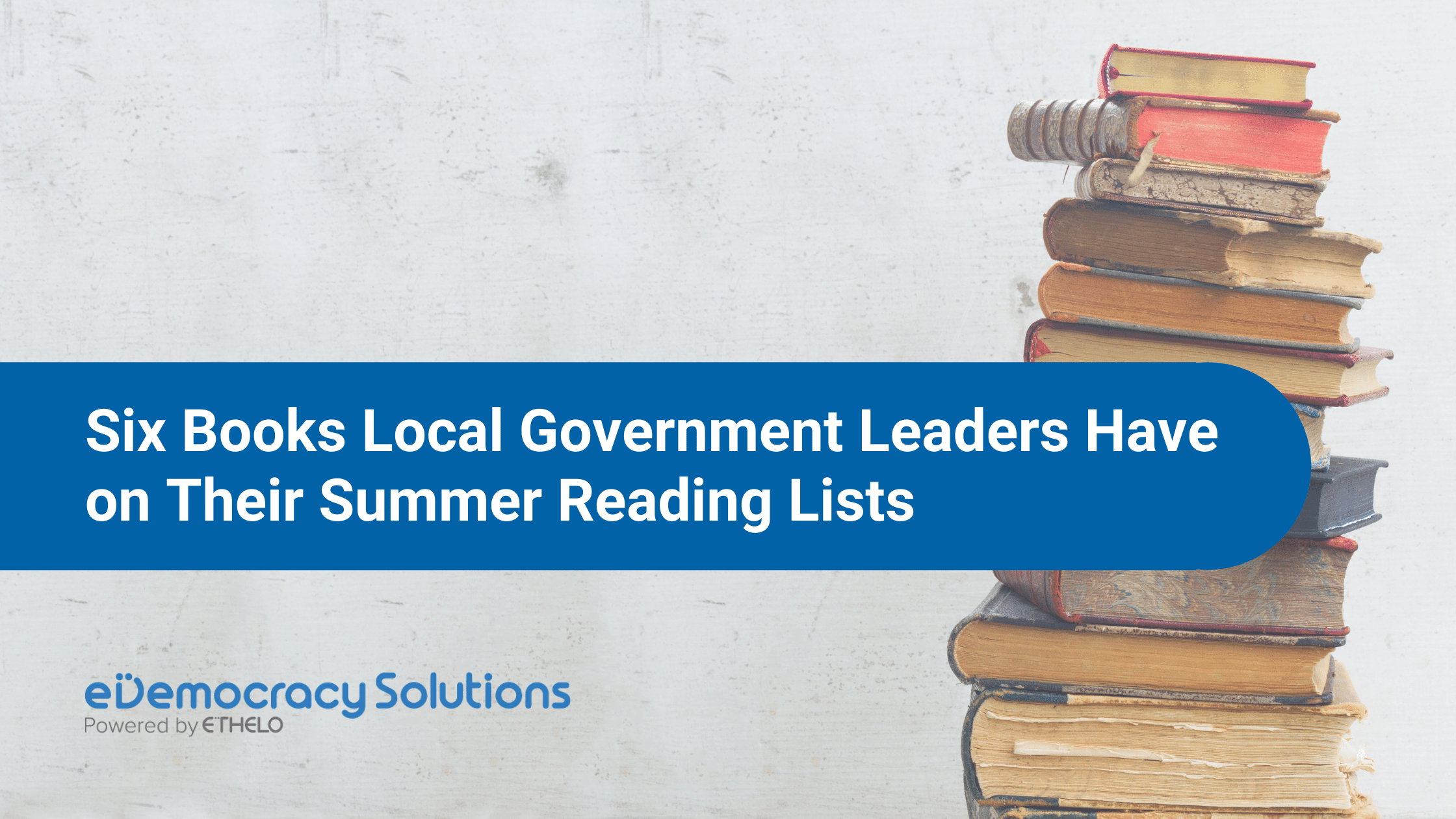 Local government summer reading list