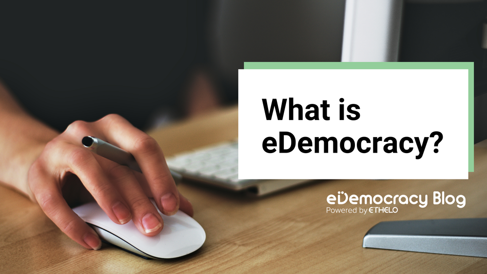 What is eDemocracy?