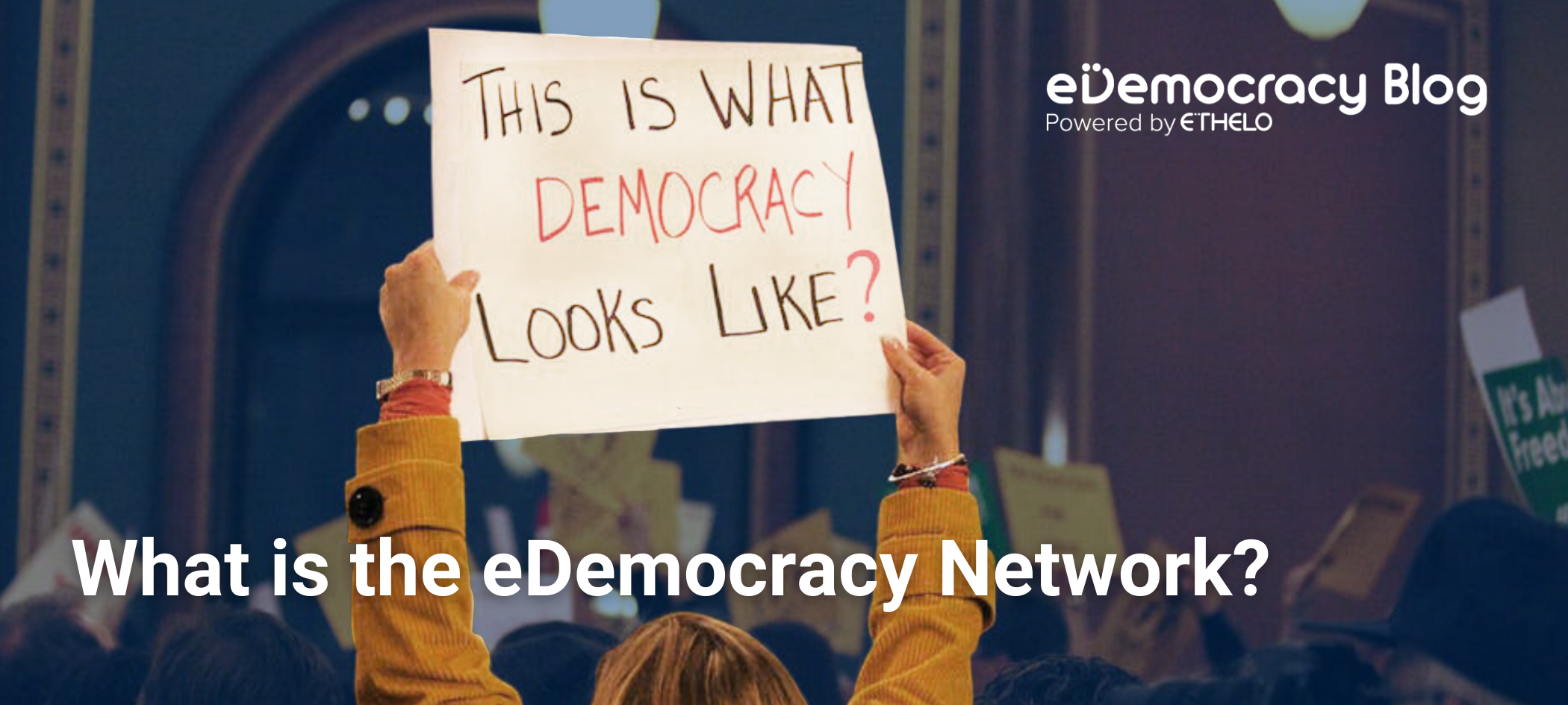 eDemocracy Network - Blog image